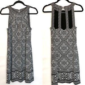 WHBM Popover Cage back & Reversible Dress size Med